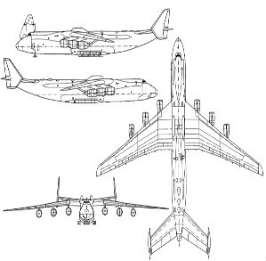 Antonov AN225 diagram