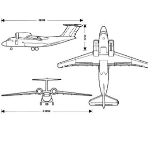 Antonov AN74 graph