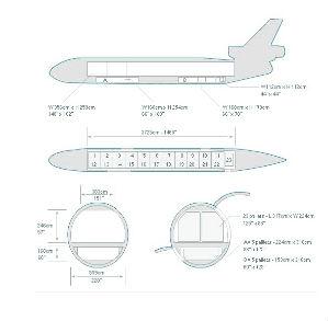 McDonnell Douglas DC-10 diagram